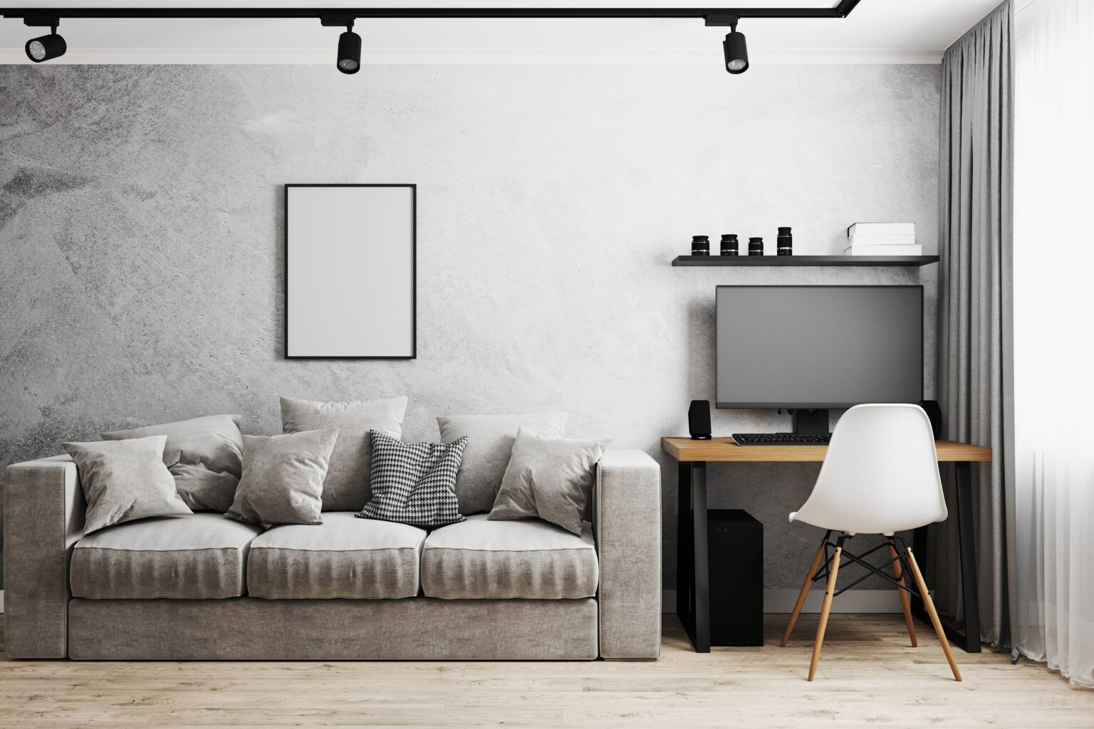 blank-frame-in-modern-interior-with-gray-concrete--AWGBCKE-min